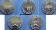 Deutschland 5x 2 Euro Gedenkmünzen 2006 Holstentor Euromünzen commemorative coin