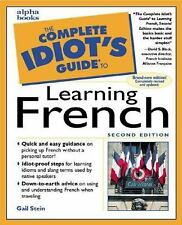 The Complete Idiot's Guide to Learning French (2nd Edition) Stein, Gail Mass Ma