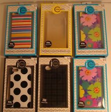 (6) New in Box  iCONCEPTS Apple iPhone 5/5S Cell Phone Case Back Covers Plastic
