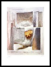 Robert Eikam Imagination II Poster Bild Kunstdruck im Alu Rahmen schwarz 80x60cm