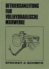 Bedienungsanleitung S&S vollhydraulische Mähwerke f. Deutz Baureihen 06