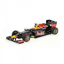 MINICHAMPS FORMULA 1 RED BULL RACING M WEBBER SHOWCAR 2012-CODE 410 120072