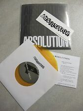 "ABSOLUTION 7"" GOLD WAX NYHC BURN SUPERTOUCH AGNOSTIC FRONT LIFES BLOOD WARZONE"