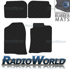 Toyota Avensis 2003 - 2009 Black Floor Rubber Tailored Car Mats 3mm 4pc Set