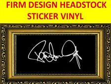 STICKER FIRM WHITE PAUL STANLEY KISS VISIT OUR STORE WITH MANY MORE MODELS