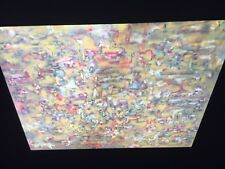 "Ad Reinhardt ""#43, Yellow "" Hard Edge 35mm Art Slide"