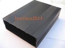 Black DIY Aluminum Project Box Enclosure Case Electronic Big 200x145x68mm