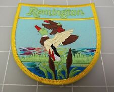 REMINGTON Firearms Blue & Yellow Duck PATCH BRAND NEW 3""