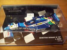 1/43 BENETTON 1997 RENAULT B197 JEAN ALESI PRINCE DECAL