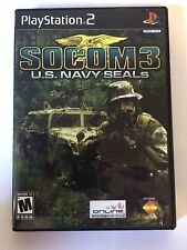 Socom 3 - Playstation 2 - Replacement Case - No Game