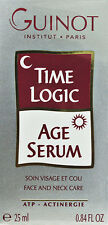 Guinot Time Logic Age Serum Face And Neck Care Atp Actinergie 25ml(0.84oz) New