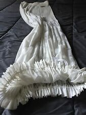 Amazing Skirt Jupe Pleats Please Issey Miyake Blanche Taille Unique Neuve!!!