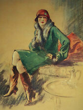 Art Deco The Russian Touch Fred W Purvis 1926 Page Print 7087