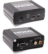 CONVERTITORE DA DVI CON AUDIO SPDIF ( OTP COAX ) A HDMI COMPATIBILE HDCP NEW!