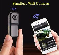 Mini WIFI/IP Wireless Spy Cam Remote Surveillance DV Security Micro Camera MD81s
