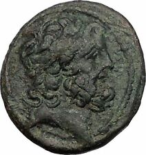ANTIOCH on the ORONTES in SELEUKIS and PIERIA 92BC Zeus Nike Greek Coin i56495