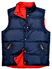 NEW RALPH LAUREN POLO MEN DOWN PUFFER WARM VEST GILET JACKET COAT NAVY SMALL S