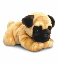 KEEL 35cm LARGE PUG PLUSH DOG SOFT TOY - REGGIE - NEW GIFT