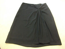 Ladies size 12 Black ESPRIT long lined Polyester decorative Skirt -*Great Con*