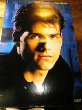 TOM CRUISE - Poster couleurs !!! Au verso : YAZZ !!!