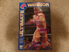 ULTIMATE WARRIOR PAPA SHANGO wrestling DOUBLE-SIDED POSTER wwf 32X21
