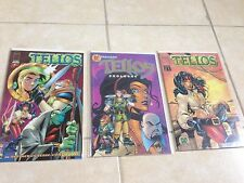 Tellos Prelude, Prologue, and issue #1 set of 3 exclusive comic book covers