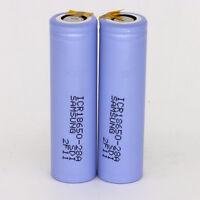 2PCS Samsung ICR18650-28A battery 2800mah Li-ion Battery With Tabs