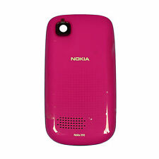 Nokia Asha 200 Cellphone Battery Door Standard Housing Cover Original Pink OEM