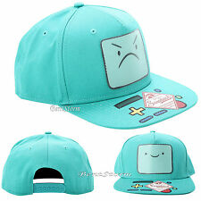 Adventure Time BMO BEEMO Lenticular Snapback Trucker BaseBall Cap Flat Bill Hat