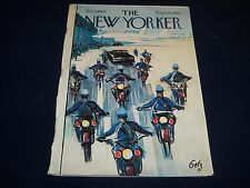 1964 OCTOBER 3 NEW YORKER MAGAZINE - BEAUTIFUL FRONT COVER FOR FRAMING- O 5004