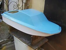 FIBREGLASS MODEL BOAT HULL AND DECK FOR RADIO CONTROL