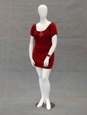 Fiberglass Plus Size Female Mannequin Manikin Dress Form Display #NANCYW2