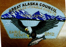 GREAT ALASKA COUNCIL WESTERN OA NANUK 355 523 PATCH 2012 EAGLE SCOUT AWARD GMY