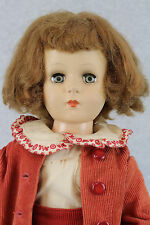 "17"" vintage hard plastic sleepy eye Doll 1950s"
