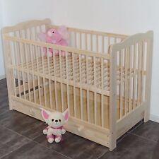 lit bébé enfant à barreaux Bois massif avec tiroir extra Planche NEUF OFFRE
