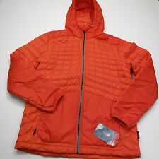 $220 North Face Men's Thermoball Hoodie Orange Medium Style CNZ7 NEW