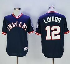 New Cleveland Indians #12 Francisco Lindor Jersey Size L - 15-20 Day Delivery