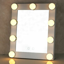 UK Christmas Vanity Lighted Hollywood Makeup Mirror  Dimmer Stage Beauty Mirror