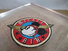Vintage Mickey Air Patch Pilot Ace Mickey Mouse