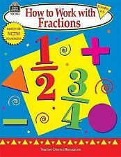 How to Work with Fractions, Grades 2-3-ExLibrary