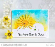My Favorite Things MFT Die-Namics SUNNY SKIES thin metal die, stitched sun