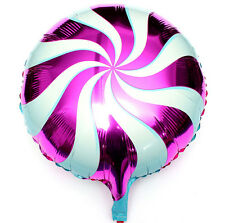 18 inch Lollipops Peppermint Candy Swirl Birthday Party Decoration Balloons ROSE
