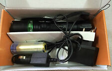 LED RECHARGEABLE FLASHLIGHT TORCH WITH 3-MODES