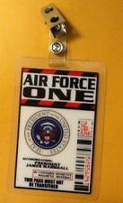 Air Force One ID Badge-President James Marshall Costume prop cosplay