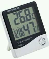 Digital Temperature & Humidity Meter + Clock