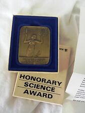 RARE Bausch & Lomb Honorary Science Award with Original Box & Papers COLLECTIBLE