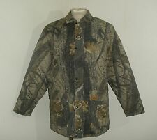 Mens DUXBAK REALTREE HARDWOODS CAMO Hunting Jacket coat USA MADE Large