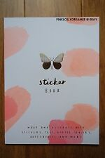 Kikki K BE BRAVE stickers labels and tags book for planner diary agenda NEW