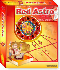 Red Astro 8.0 Professional - Hindi Astrology Horoscope Software CD