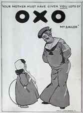 Metal Sign 1909 Oxo A4 12x8 Aluminium
